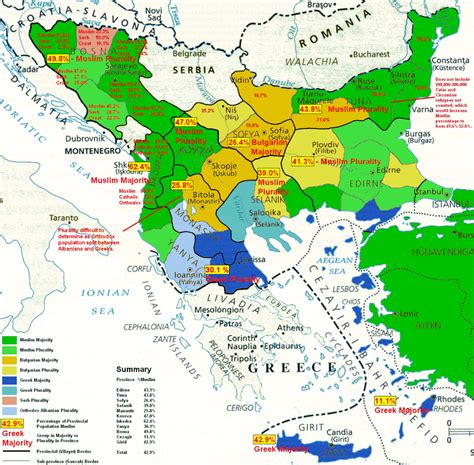 Religious Ethnic Map Of The Balkans In The 19th Maps Religion Ottoman Empire
