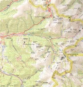 map of colorado topographic