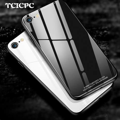 Iphone I Phone 7 7 Plus Tempered Glass 3d Curved Cover tcicpc glass for iphone 7 7 plus iphone 8 8 plus
