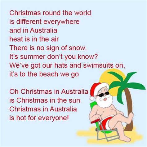 christmas themed poems poem an aussie christmas google search xmas recipes