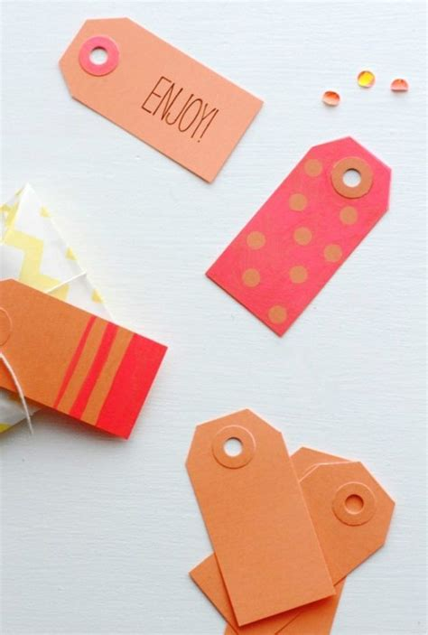 diy tags awesome diy gift tag ideas diy projects craft ideas how