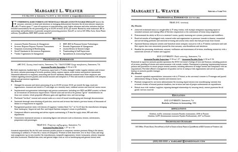 Resume Tips Mid Career Accounts Payable Resume Sle