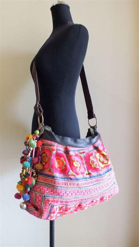Handmade Fabric Purses - hmong ethnic handmade bag vintage fabric handbags and