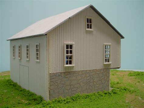 Gable Roof Barn Pdm 1100 Ho Scale Swiss Gable Roof Barn Penn Scale