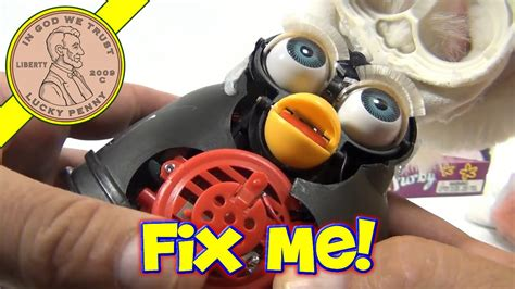 I Gear Original 1998 furby repair fixing a tiger electronic furby from 1998