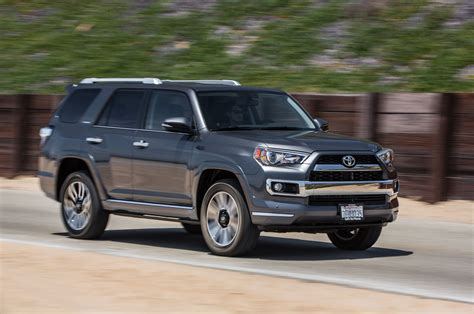 toyota f runner 2015 toyota 4runner limited 4x4 test photo gallery