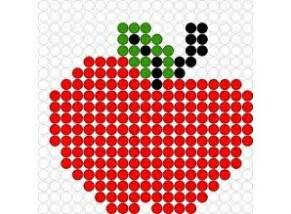 apple perler apple perler bead pattern nnn patterns