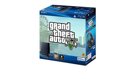 gta sa console gta 5 un bundle ps3 et une baisse de prix pour la console