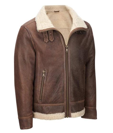 light brown leather jacket mens mens light brown leather faux shearling aviator jacket
