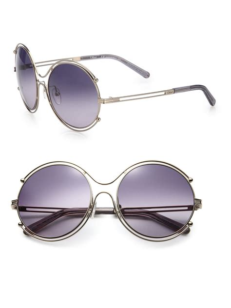 Boontie Isadora Grey chlo 233 isadora 59mm sunglasses in purple lyst