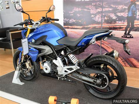 Motorrad G310r by 2016 Bmw Motorrad G310r Previewed In Malaysia Image 499572