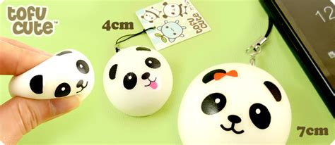 Squishy Dimsum buy squishy scented panda dim sum bun phone charm at tofu