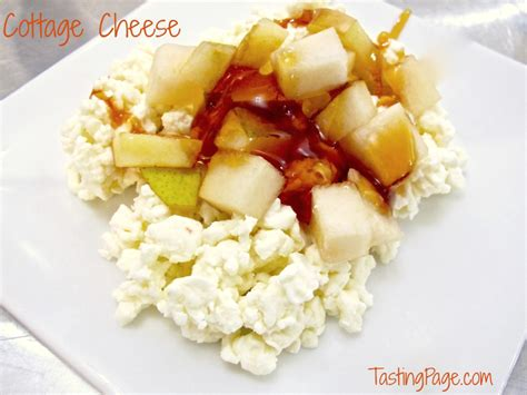 make your own cottage cheese cottage cheese tasting page