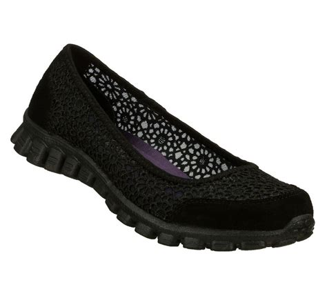 22625 skechers shoes memory foam black comfort slip