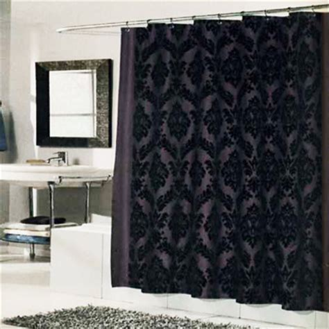 Regal Home Decor by Regal Shower Curtain Brown Black Interiordecorating
