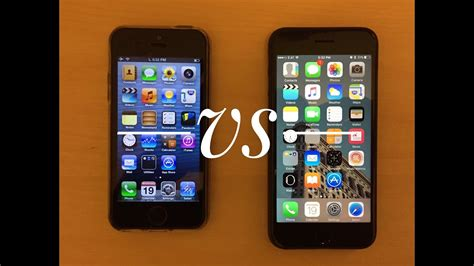 7 iphones ranked ios 6 vs ios 10 speed test iphone 5 vs iphone 7