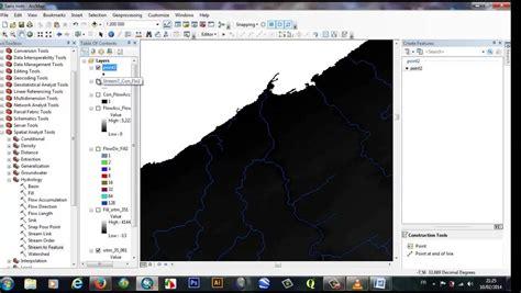 arcgis watershed tutorial d 233 limitation des bassins versants avec srtm sous arcgis