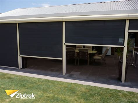 outdoor roller blinds perth 187 double blackout blinds