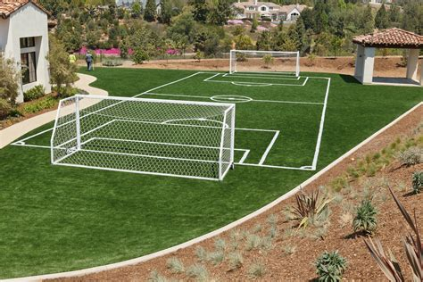 wouldn t you to a soccer field at your house