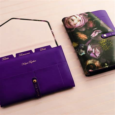 Buy Ted Baker Shadow Flora Travel Documents Holder   Amara