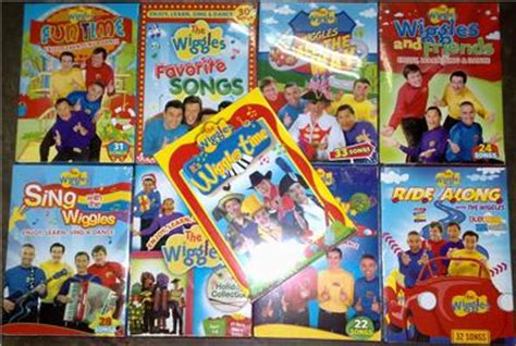 wiggles waves free form books the wiggles dvd lot ebay images