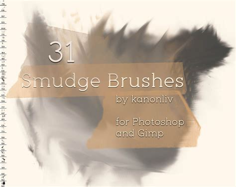 smudge brush tutorial photoshop 31 smudge brushes by kanonliv on deviantart