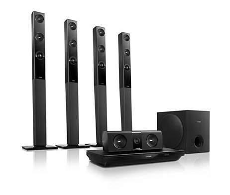 buy philips htb3580 5 1 3d home theatre system