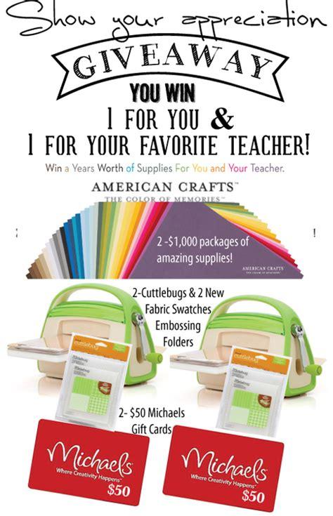 Teacher Giveaways - craftaholics anonymous 174 teacher appreciation giveaway