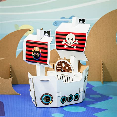barco pirata hacer barco pirata jungla de cart 243 n