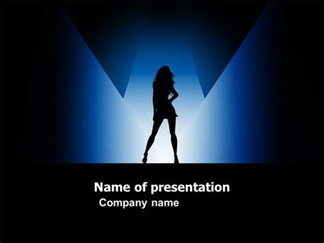 Fashion Show Presentation Template For Powerpoint And Keynote Ppt Star Show Ppt Template