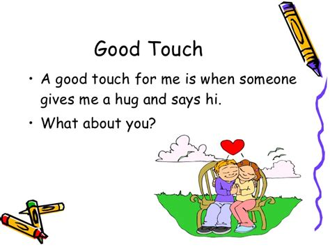 Touch Bad Touch Worksheets