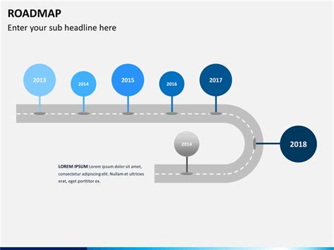 Roadmap Ppt Slide Roadmap Powerpoint Template Sketchbubble
