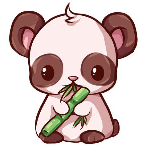 imagenes monitos kawaii kawaii panda buscar con google compartir pinterest