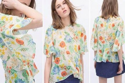 Baju Zara foto gambar model baju zara original terbaru untuk til oke 5 zara floral
