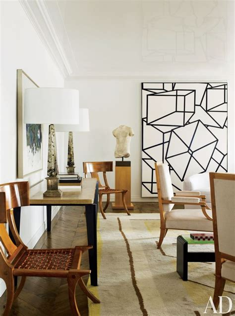 Artwork For Living Room by In The Living Room Of A New York Apartment By Delphine