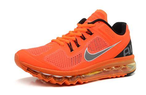 nike air max 2013 mens shoes gray orange