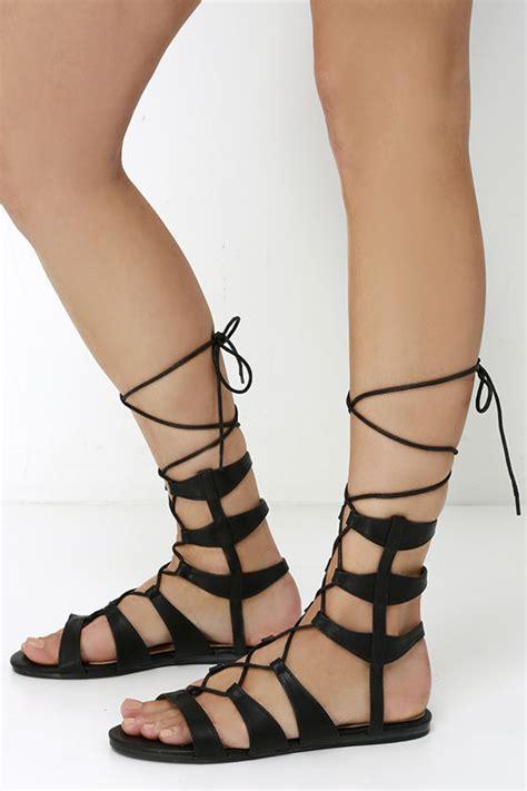 black lace up gladiator sandals black vegan leather sandals gladiator sandals lace up