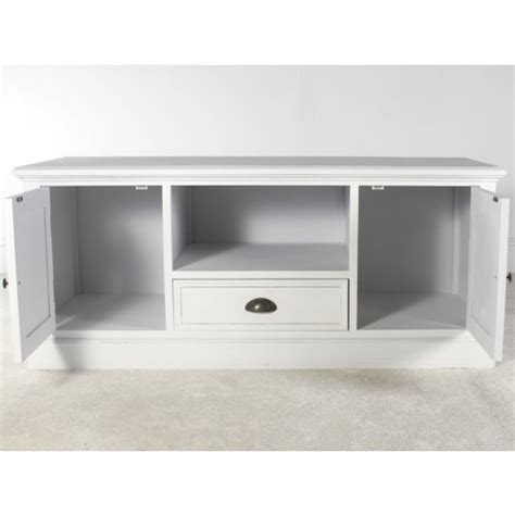 new white 2 door tv cabinet