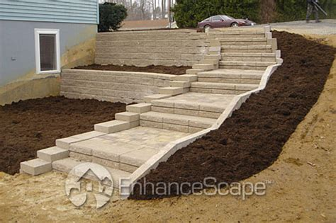 backyard steps ideas fast design home landscaping designs with photos