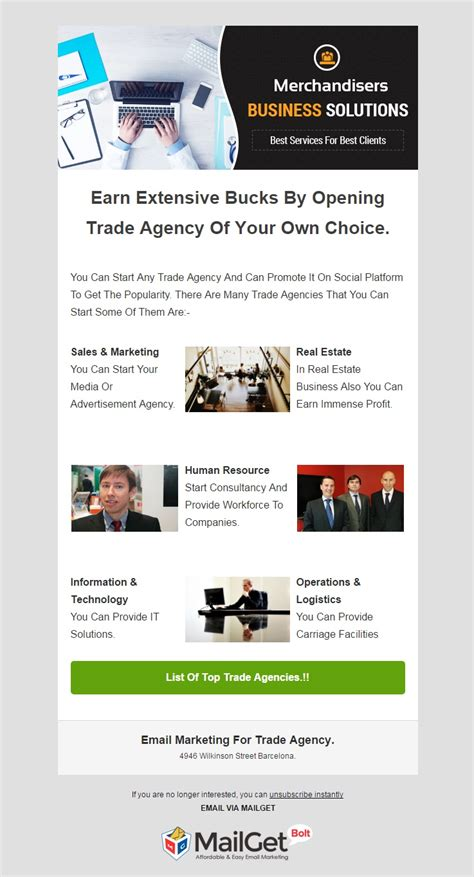 email template service 6 best agencies email templates for trade travel