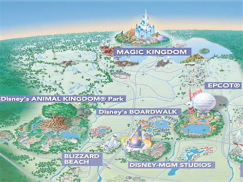theme park names around the world walt disney world resort orlando
