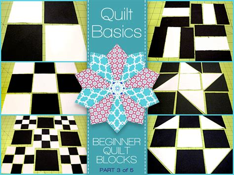 Quilt Parts by Quilting Basics A Five Part Series For Beginners Sew4home