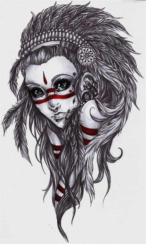 native tattoo designs pinterest native girls