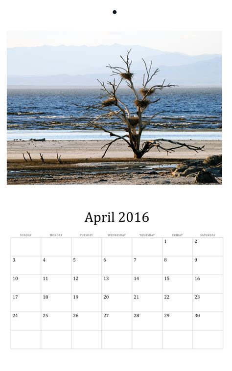2016 Wall Calendar April 2016 Wall Calendar Free Stock Photo Domain