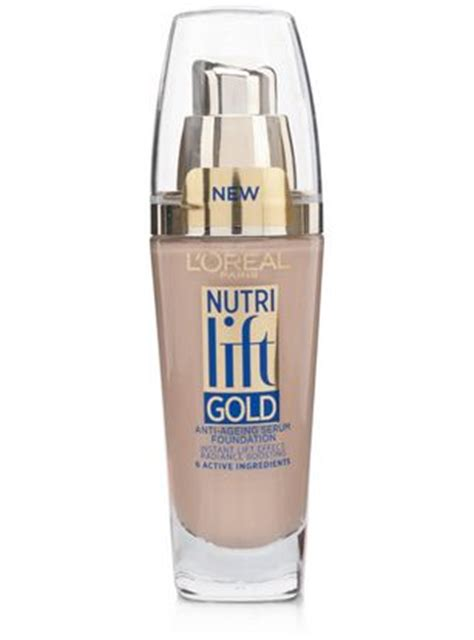 L Oreal Anti Aging l oreal nutri lift gold anti aging foundation discontinued reviews photo ingredients