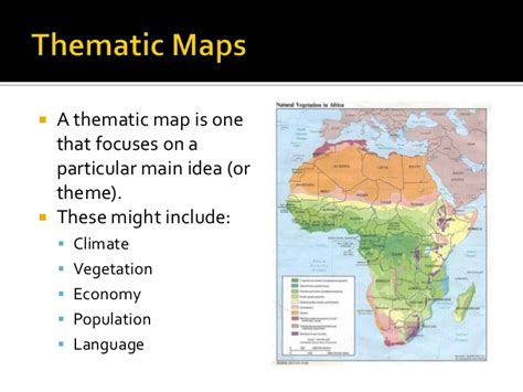 theme definition geography geography skills thematic maps climate