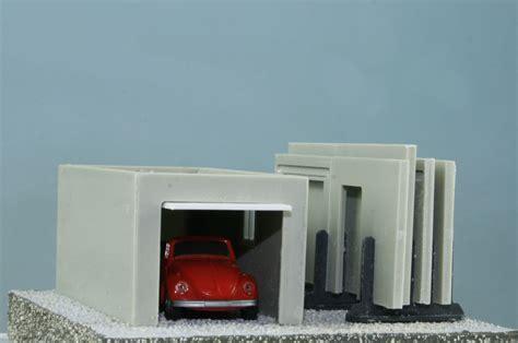 gestell garage luetke modellbahn fertigteilgarage mit transportgestell