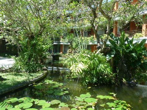 Bali Garten by Garden And Pond Views From Ground Floor Hotel Rooms Picture Of Bali Garden Resort Kuta