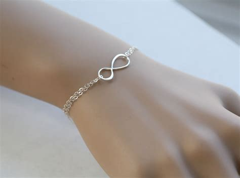 infinity bracelet best friends bracelet bridesmaid gifts