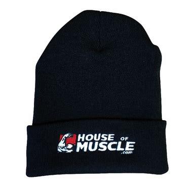 house of muscle house of muscle hat warmth comfort for training